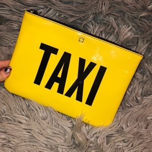 Kate spade taxi off duty cabi New York zip pouch